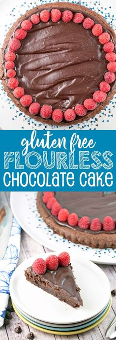 Flourless Chocolate Cake: A rich, one bowl flourless chocolate cake, perfect for Passover, a gluten-free birthday cake, or just because it's a Tuesday. {Bunsen Burner Bakery} via @bnsnbrnrbakery