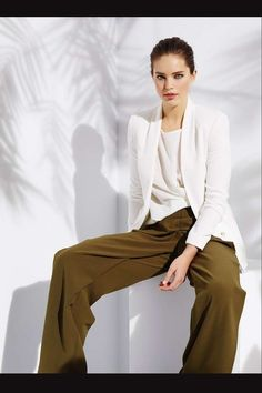 Suiteblanco Colección Primavera 2015: fotos de los modelos - Suiteblanco pantalones kaki