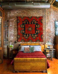 Фото из статьи: Ковёр на стене: 5 невероятных причин «за»