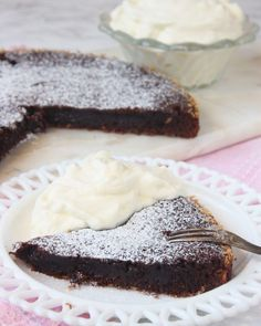 Chokladkola-kladdkaka