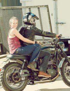 Norman Reedus & Melissa McBride