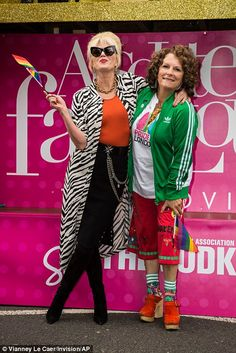 When it comes to the stellar line-up appearing alongside Jennifer Saunders and Joanna Lumley in the film, there's one name that stand out above all others - Kate Moss. Absolutely Fabulous Quotes, Patsy And Eddie, 90s Fancy Dress, Patsy Stone, Jennifer Saunders, London Pride, Joanna Lumley, Ab Fab, Lyric Art