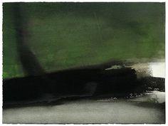 Miklós Szüts: Notes from Scotland, aquarell, paper, 30 x 40 cm, (2014)