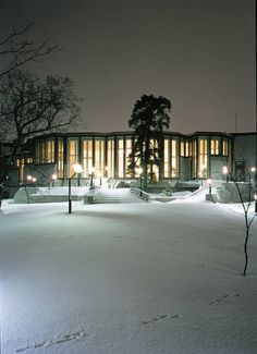 The official residence of the President of Finland, Helsinki