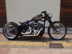 Harley Motorcycle -                                                              hellkustom:  More pics here: www.hellkustom.co...   Harley-Davidson by sun motorcycles