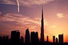Dubai — Silhouettes. ♥ REPIN, LIKE, COMMENT & SHARE! ♥