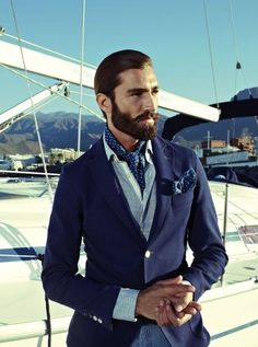 #DressWell You better be looking dapper living that yacht life  mensfashionworld:  Florentino S/S 2013