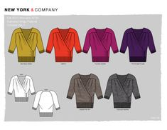 Sweater/Knitwear - Flat Sketch - Technical & Conceptual Design by Jessica Leigh Terry at Coroflot.com