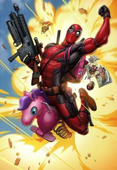 Ideas for funny marvel deadpool wade wilson Art Deadpool, Deadpool 2 Poster, Deadpool 2 Movie, Deadpool Unicorn, Deadpool Tattoo, Marvel Fan, Marvel Dc Comics, Marvel Heroes, Marvel Avengers