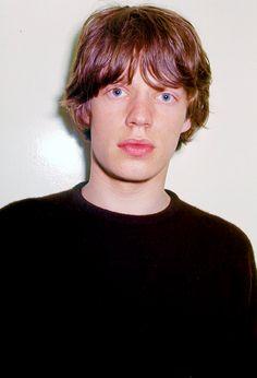 Mick Jagger photographed by Michael Ochs, 1965.