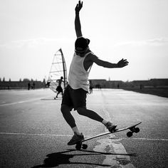 #SKATER AUF DEM #TEMPELHOFERFELD by Arno Simons #Photocircle #nofilter #bw #blackandwhite #monochrome #photoart from #Berlin #Germany #sportphotography #peoplephotography #streetphotography #sports #Tempelhof #skating #skateboard #boarding  #Closethecircle - if you buy this photo Arno Simons and Photocircle #donate 16% to help people affected by the war in #Syria - #socent #dogood #purchasewithpurpose #giftsthatgiveback #wallart #homedecor
