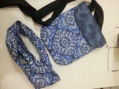 bolsa adulto com bandana