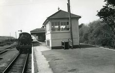 Perranporth Station, 4 July 1956 - Photos - Our collection Disused Stations, Devon And Cornwall, Postcards, Trains, Spiral, England, Bath, History, Photos