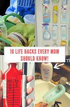 Life Hacks Every Mom