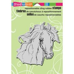 Stampendous Cling Rubber Stamp Horse  Filly by SeptemberPlayground, $7.81