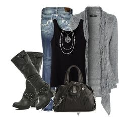 """Fall sweater"" by daisy-weber on Polyvore"