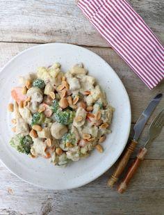 Kyllingwok med krema, enkel woksaus Cooking Recipes, Healthy Recipes, Sugar And Spice, Superfoods, Pasta Salad, Potato Salad, Nom Nom, Healthy Living, Spices