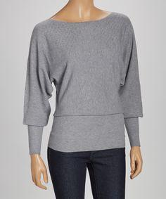 Gray Favorite Cozy Sweater