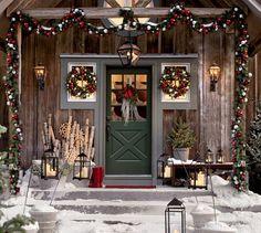 Outdoor Ornament Pine Wreath -Pottery Barn