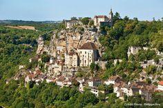 Rocamadour (Lot), vue panoramique
