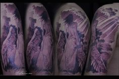 One of best angel tattoos