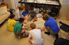 lego league core values practice challenges