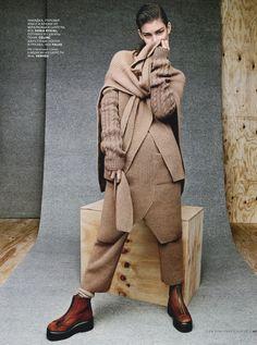 Vogue Russia September 2014   Ophelie Guillermand by Jason Kibbler [Editorial]