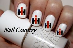 50pc Country Tractor Farmall Case Ih Logo Nail Decals Nail Art Nail Stickers Best Price  NC381