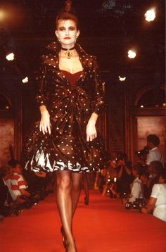 Fall-Winter 1987 Haute Couture Christian Lacroix - mississipy