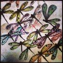 Colorful Dragonfly pursuit by EnserCreations on Etsy, $75.00