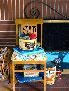 Recycle the Old-fashioned Way - Decorate With Flea Market Finds  on HGTV