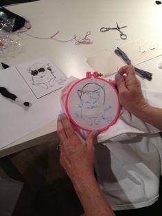 student work from Sew LA workshop