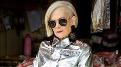 Lyn Slater, icono accidental de moda a los 63 años