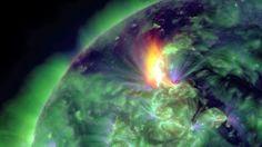 Solar flare today