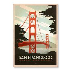 Joel Anderson - San Francisco Golden Gate Bridge
