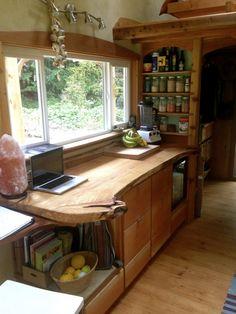 Keva Tiny House, Salt Spring Island, British Columbia, (pinned by haw-creek.com)