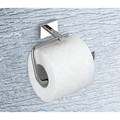 Gedy 6624-13 Toilet Paper Holder, Minnesota - Nameek's $66 NOT Brass.  Stainless w chrome plating.  http://www.nameeks.com/product/Toilet-Paper-Holder/Gedy-6624-13.html Width:	5.9 inches Height:	3.3 inches Depth:	3 inches Weight:	0.46 lbs