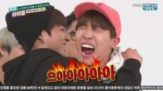 """Watch: BTS' J-Hope and Jungkook Share a Penalty Kiss on """"Weekly Idol"""""""