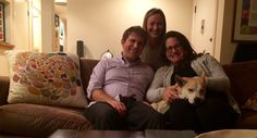 Homes for Dogs Project: Local Spotlight. Meet Mike, Sara, their CB Agent Jackie and their furry friend Wally.