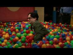 Sheldon cooper in ball pit - Full - The big bang theory