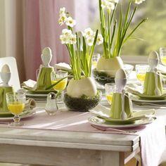 Tisch Deko Ideen: 43 Schöne Gedecke, Die Inspirieren. Easter  CenterpieceEaster Table ...