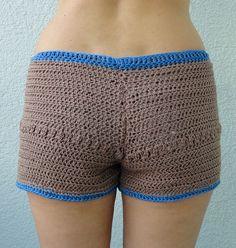 Shorts, Hotpants  von WOOLZILLA.de auf DaWanda.com