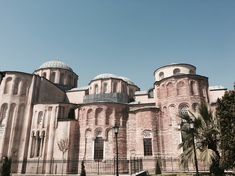Church of Christ Pantokrator (Zeyrek Camii) is a complex of 3 buildings. Istanbul (1118-1143 CE)