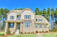 Jefferson design, Hall at Southern Trace, Charlotte, NC - 5 Bedroom, 4.5 Bath, 3489 sq.ft.