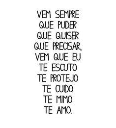 ♥ então vem...