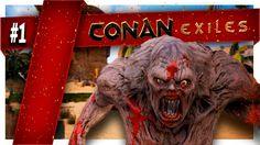 Conan Exiles | Part 1 | MY BEAUTIFUL KINGDOM! Conan Exiles, Lion Sculpture, Statue, Beautiful, Art, Art Background, Kunst, Performing Arts, Sculptures
