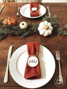 Set of wood napkin rings wood slice napkin rings Thanksgiving Decorations Outdoor, Thanksgiving Table Settings, Thanksgiving Tablescapes, Christmas Table Decorations, Holiday Tables, Outdoor Thanksgiving, Fall Table Settings, Thanks Giving Table Decorations, Friends Thanksgiving