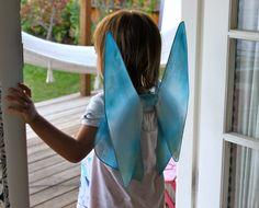 Easy Homemade Fairy Wings