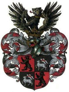 Familienwappen der Mylius aus Schleiz und Ansbach Mylius - Schleiz und Ansbach Coat of Arms