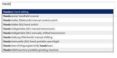 Textprobe: deutsch-english Woerter kfz-mechaniker (Uebersetzer)